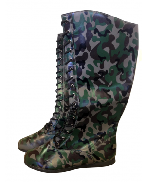 Camo Adult Wrestling Boots