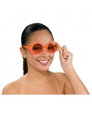 Kurt Cobain Orange Round Sunglasses