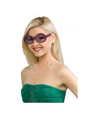 Kurt Cobain Purple Round Sunglasses