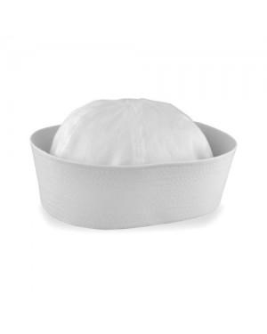 White Child Sailor Gob Hat