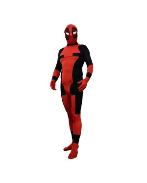 Deadpool Red and Black Adult Costume