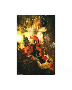 Deadpool Shells Poster