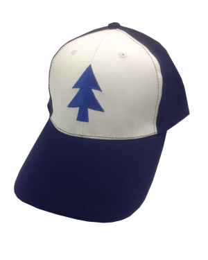 Dipper Pines Blue Tree Baseball Cap