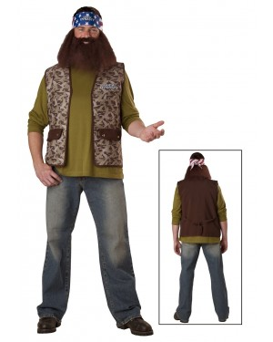 Willie Duck Dynasty Adult Costume