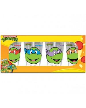 Teenage Mutant Ninja Turtles Happy Faces 4-Pack Pint Glasses