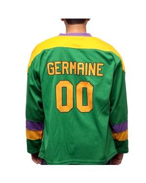 Guy Germaine #00 Ducks Hockey Jersey