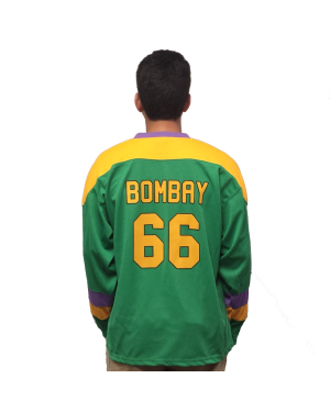 Gordon Bombay #66 Ducks Hockey Jersey