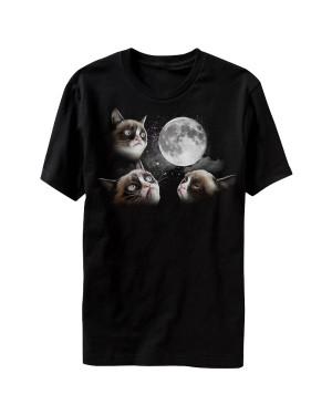 Moon Grumpy Cat T-Shirt