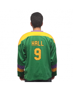 Jesse Hall #9 Ducks Hockey Jersey