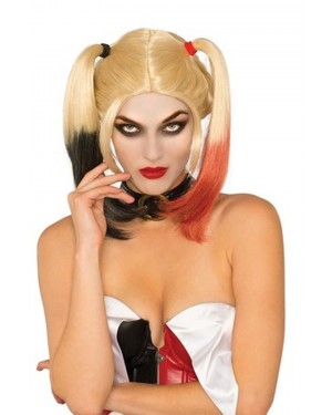 Deluxe Harley Quinn Arkham Wig