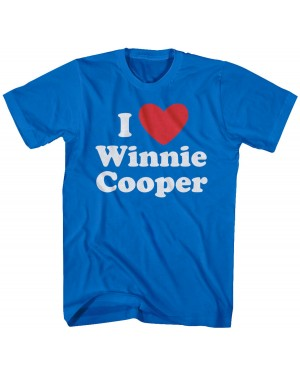 I Heart Winnie Cooper Mens Lightweight T-Shirt
