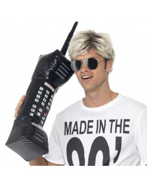 Black Inflatable Brick Cell Phone