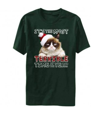 It's The Most Terrible Time of Year Christmas Grumpy Cat T-Shirt
