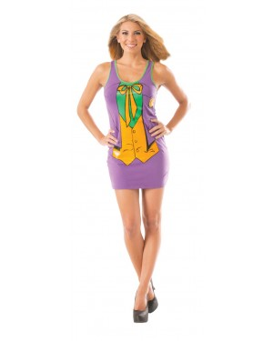 The Joker From Batman Womens Tank Dress Costume