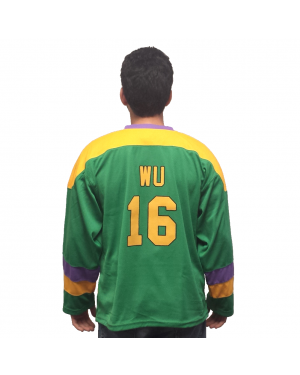Ken Wu #16 Ducks Hockey Jersey