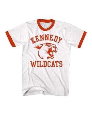Kennedy Wildcats Mens Ringer T-Shirt