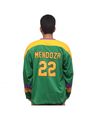 Luis Mendoza #22 Ducks Hockey Jersey