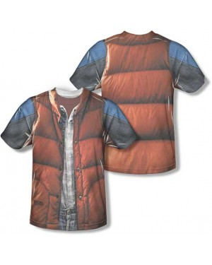 Marty McFly Back To The Future T-Shirt Costume