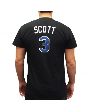 Lucas Scott #3 Black T-Shirt