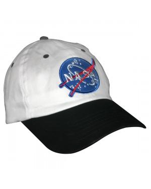 White And Black NASA Child Hat