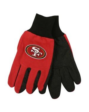 San Francisco 49ers NFL Utility Gloves (Pair)