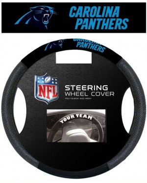 Carolina Panthers Steering Wheel Cover