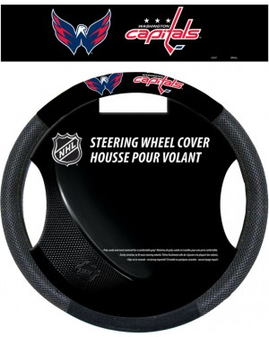 Washington Capitals Steering Wheel Cover