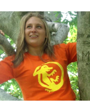 Orange Iguanas Legends of the Hidden Temple Womens T-Shirt