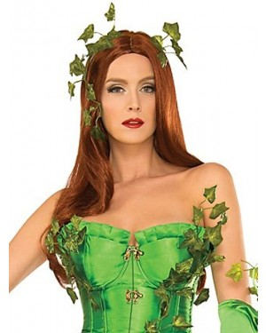 Deluxe Washable Poison Ivy Wig