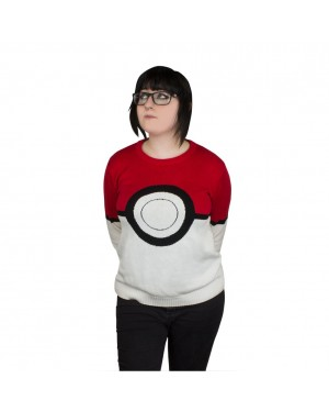 Pokemon Pokeball Womens Knitted Sweater