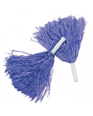Purple Pom-Poms (Pair)