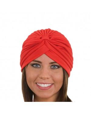 Red Spandex Turban