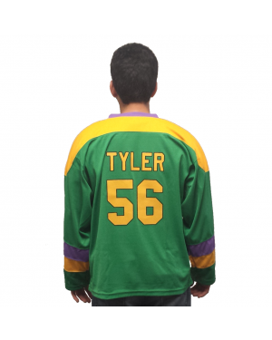"Russ ""Knuckle Puck"" Tyler #56 Ducks Hockey Jersey"