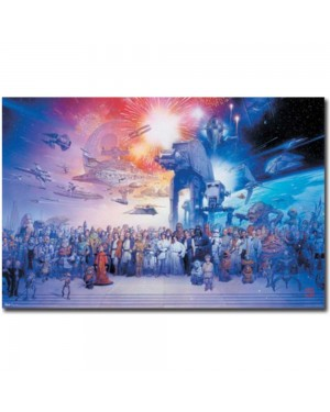 Star Wars Galaxy Poster