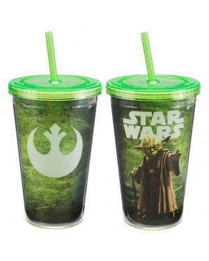 Star Wars Yoda Acrylic Travel Cup