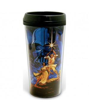 Star Wars Poster Plastic Travel Coffee Mug