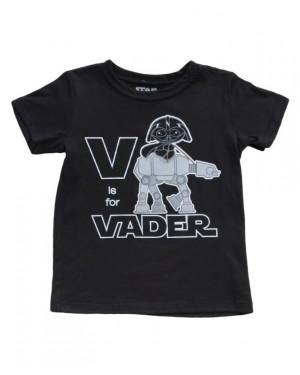 V Is For Vader Star Wars Toddler T-Shirt