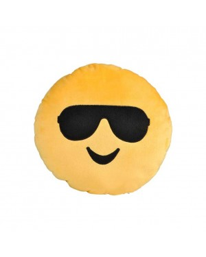 Sunglasses Smile Yellow Emoji Pillow