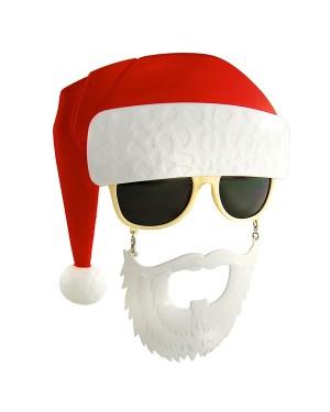 Santa Sunstache Sunglasses