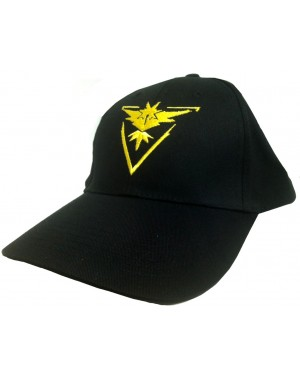 Team Instinct Black Hat With Yellow Logo