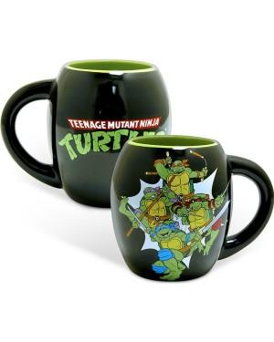 Teenage Mutant Ninja Turtles Group Oval Mug