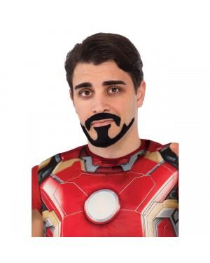 Iron Man Tony Stark Moustache And Goatee