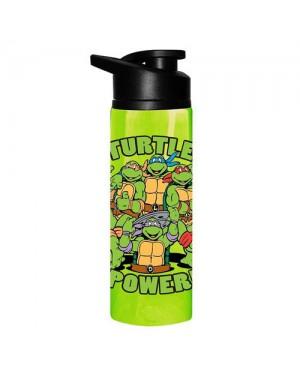 Turtle Power Teenage Mutant Ninja Turtles Stainless Steel Water Bottle
