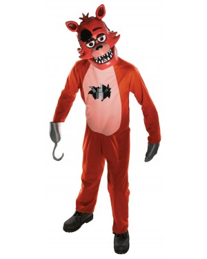 Foxy Tween Costume Five Nights At Freddy's