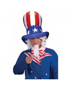 Patriotic Inflatable Top Hat