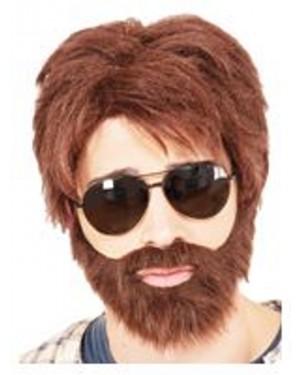 Vegas Hero Wig And Beard