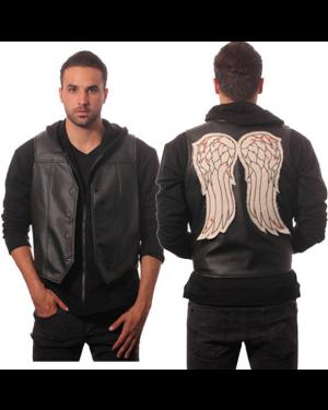Walking Dead Daryl Dixon Faux Leather Wing Vest