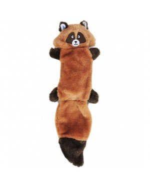 Zingy Raccoon Squeak Dog Toy
